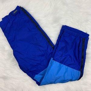 Patagonia Unisex Winter Ski Pants Blue USA Made L